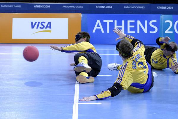 svenska goalball-spelare i Paralympics
