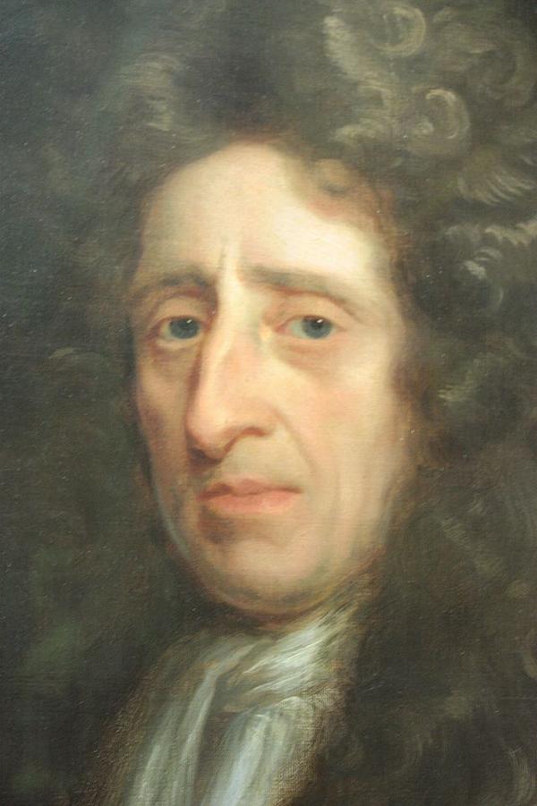 John Locke s Kit cat portrait by Godfrey Kneller  National Portrait Gallery  London